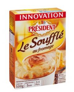 Soufflé au Fromage président