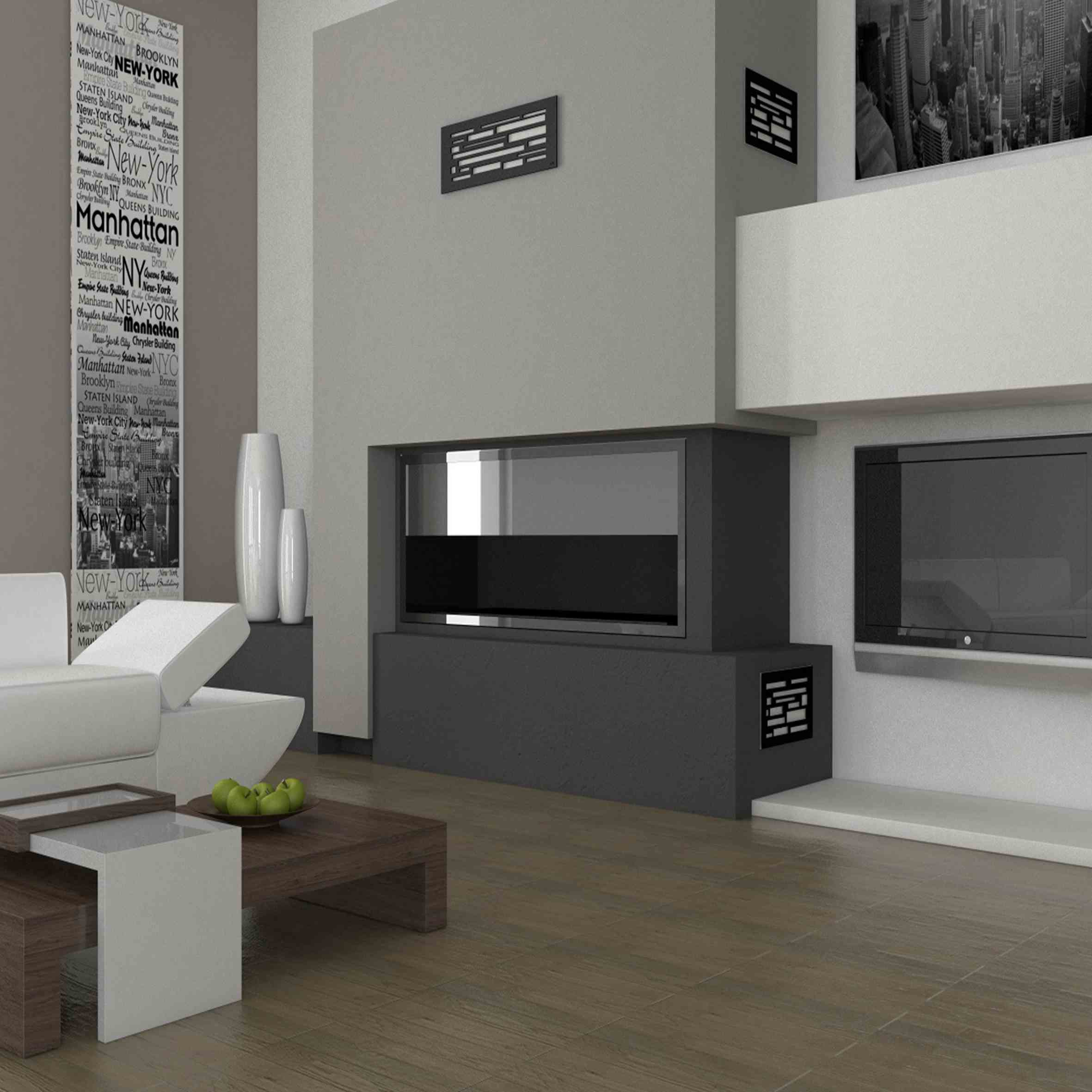 habillez vos chemin es de grilles d coratives so we. Black Bedroom Furniture Sets. Home Design Ideas