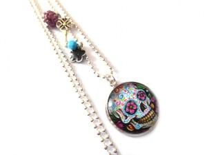 sautoir skull